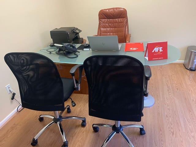 oficina ejecutiva afe